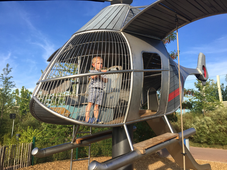 PLAYMOBIL FunPark Hubschrauber