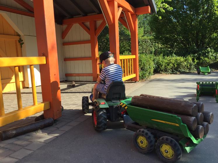 PLAYMOBIL FunPark Traktor Parcours