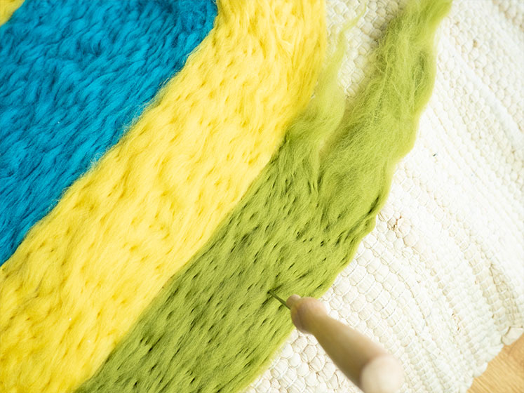 Regenbogen Wandteppich - Dritte Reihe