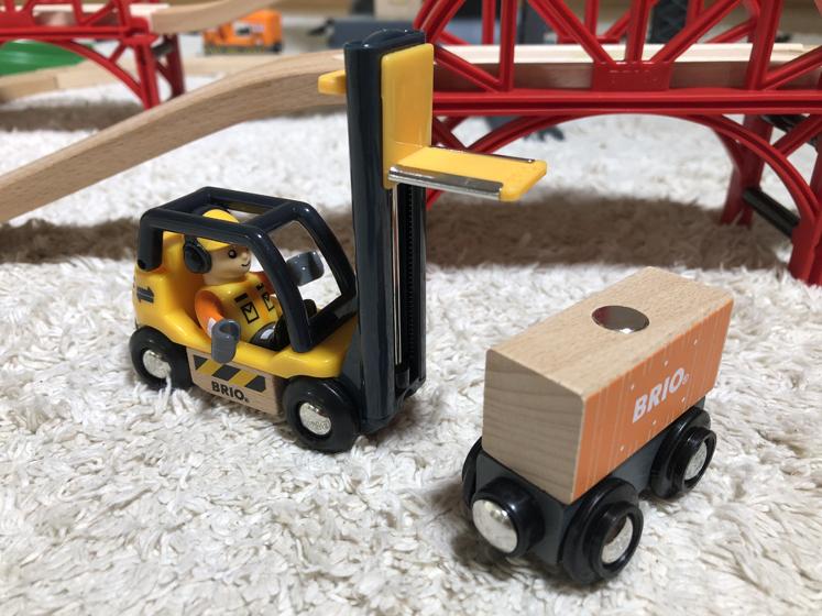 Das Große Lagerhaus BRIO - Staplerfahrer