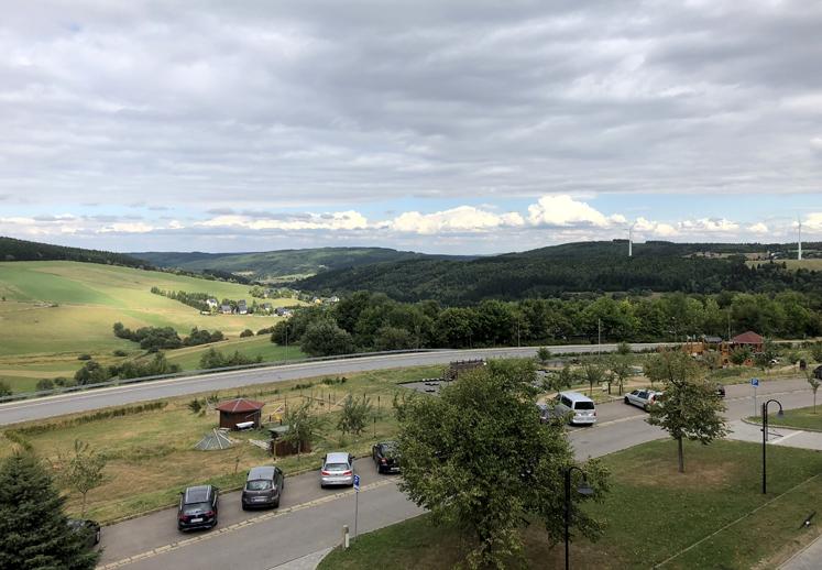 Elldus Resort - Ausblick