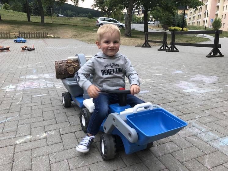 Elldus Resort - Fahrzeuge