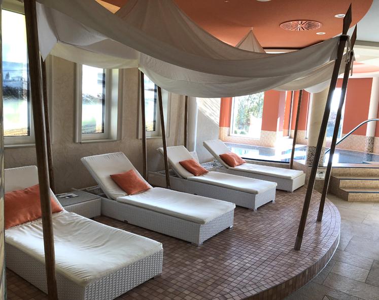 Elldus Resort - Ruhebereich Sauna