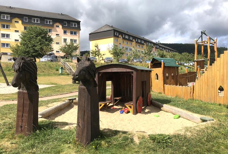 Elldus Resort - Sandkasten