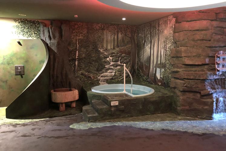 Elldus Resort - Saunabereich