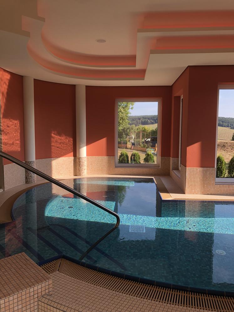 Elldus Resort - Schwimmbad Sauna