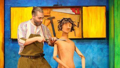 Pinocchio – Geppetto und Holzpuppe