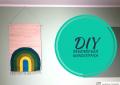 Regenbogen Wandteppich - DIY