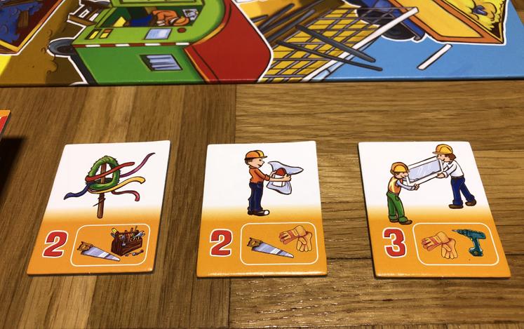 Spiele für den Herbst - Aufgabenkärtchen - Das große Baustellen Spiel