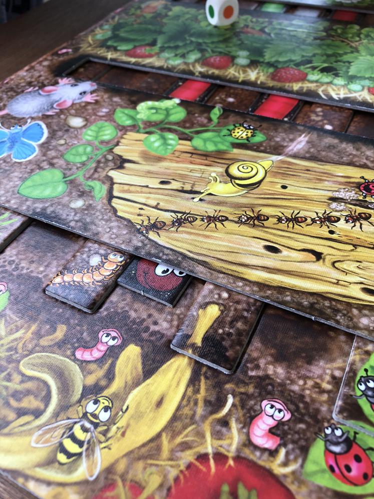 Spiele für den Herbst - Der Wurm - Da ist der Wurm drin