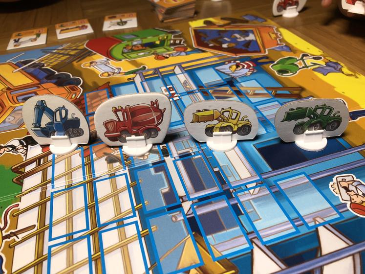 Spiele für den Herbst - Fahrzeuge - Das große Baustellen Spiel
