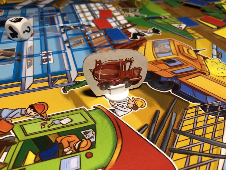 Spiele für den Herbst - Spielfigur - Das große Baustellen Spiel