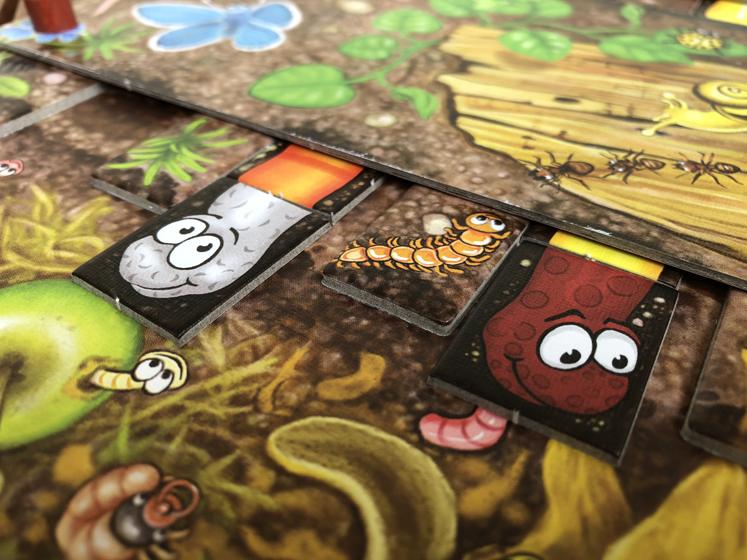 Spiele für den Herbst - Würme - Da ist der Wurm drin