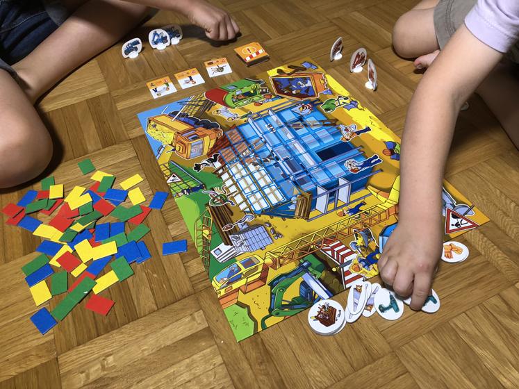 Spiele für den Herbst - Werkzeuge auswählen - Das große Baustellen Spiel