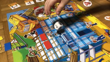 Spiele für den Herbst - würfeln - Das große Baustellen Spiel
