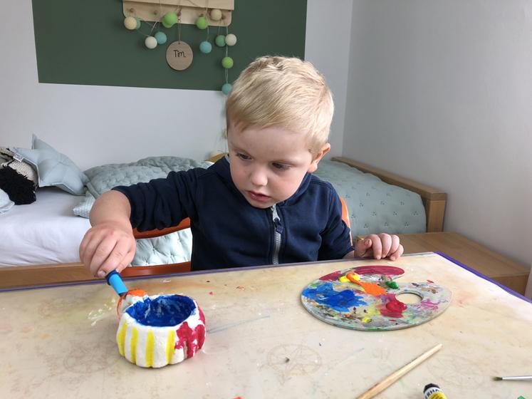 Werkbuch für Kinder - Farblich gestalten