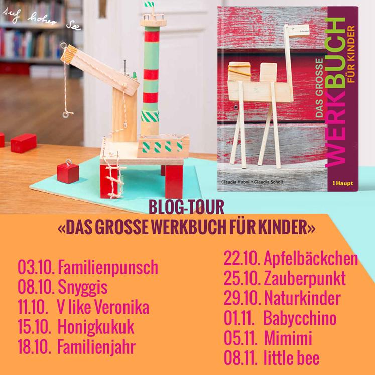 Werkbuch für Kinder - Blogtour