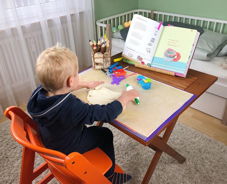Werkbuch für Kinder - Kneten mit Salzteig