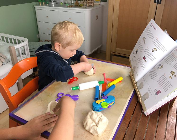 Werkbuch für Kinder - Puppentasse aus Salzteig