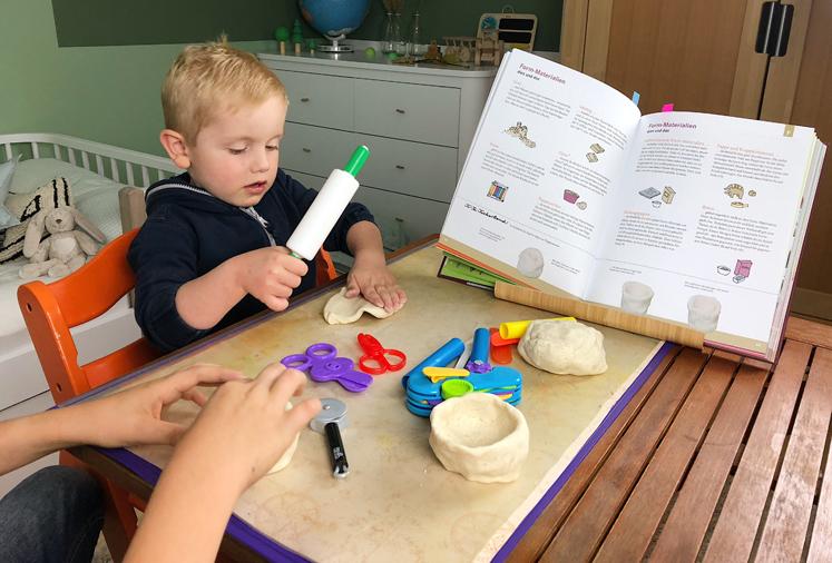 Werkbuch für Kinder - Puppentasse basteln