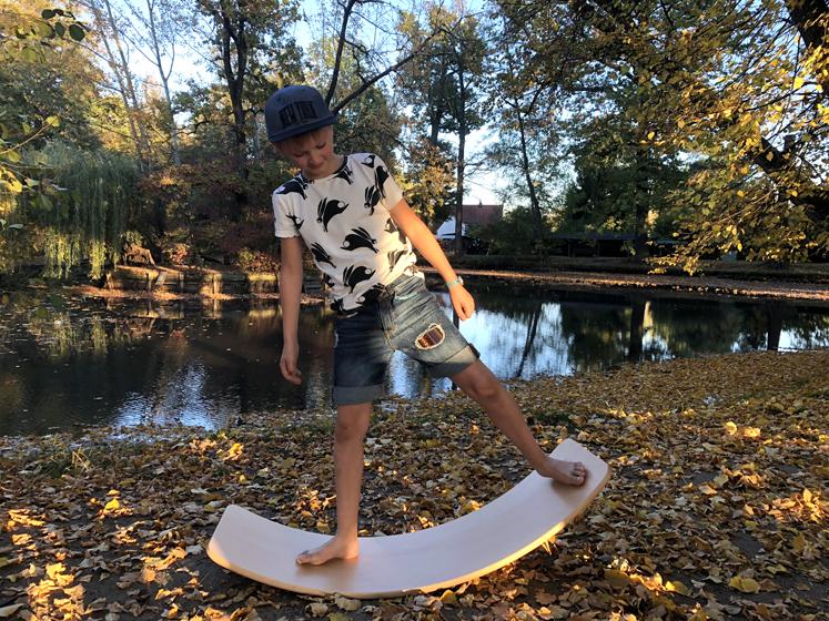 Wobbel Board - Für die Stärkung des Körpergefühls
