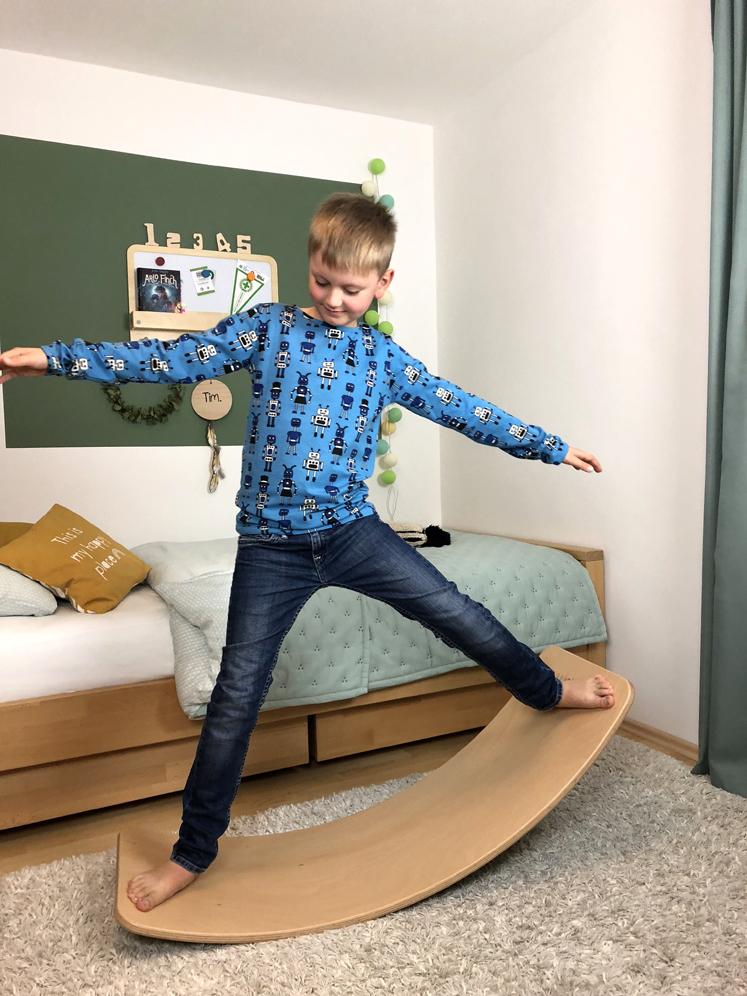 Wobbel Board - regt zu mehr Bewegung an