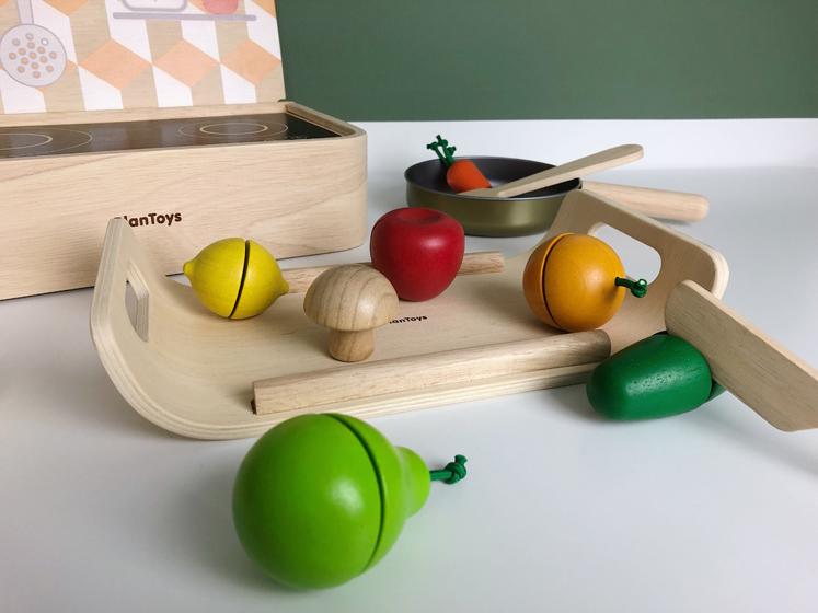 Blogger Adventskalender - Gemüse und Obst Schneide Set