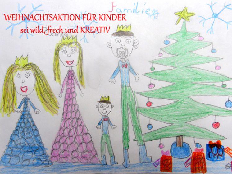 Weihnachtsaktion - sei wild, frech und KREATIV