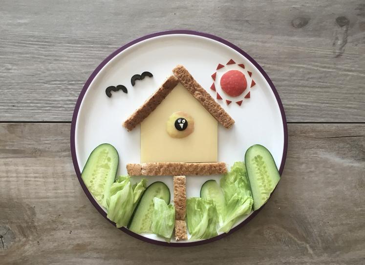 Kreatives Kinderessen - Der frühe Vogel fängt den Wurm