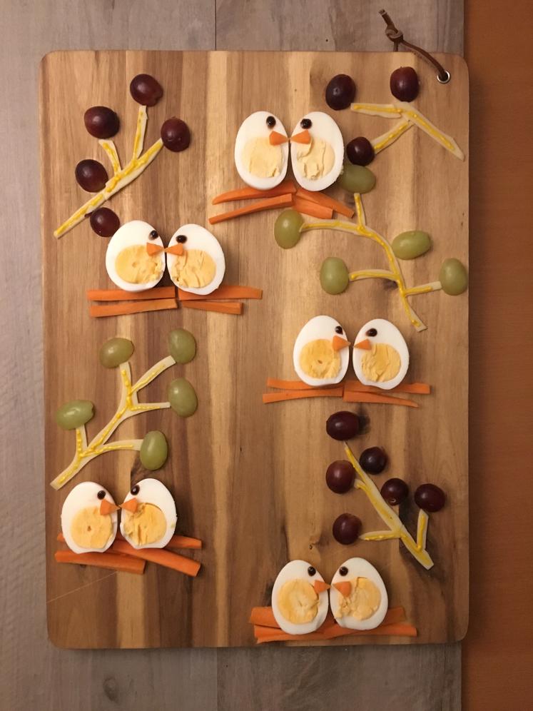 Kreatives Kinderessen - Ein Snack für den Kindergarten
