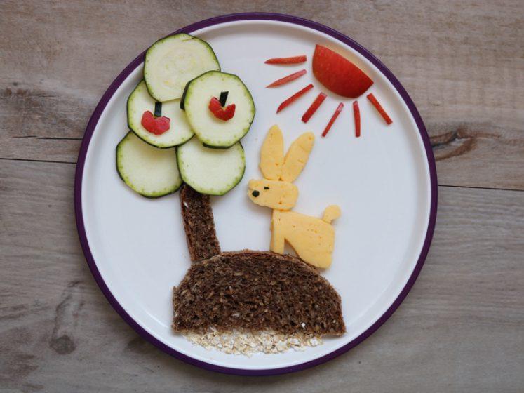 Kreatives Kinderessen - Osterhasi