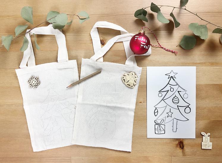 Geschenkverpackungen - Motive übertragen