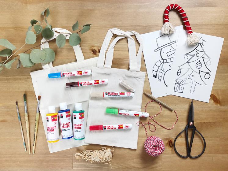 Geschenkverpackungen - Materialien