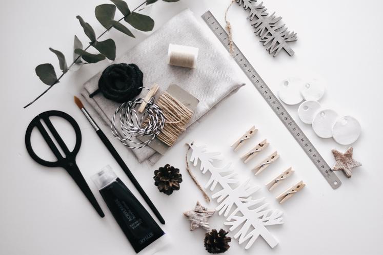 Adventskalender DIY Material