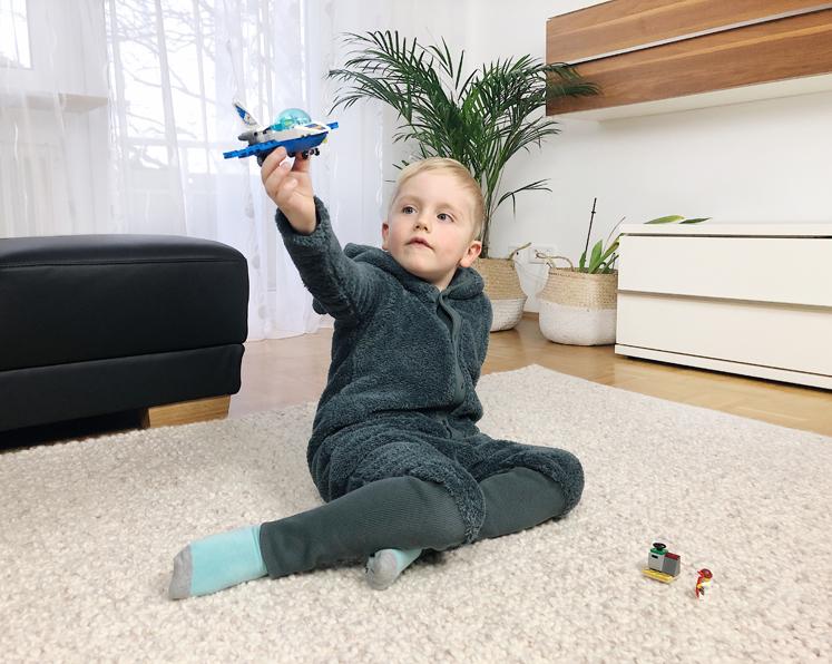 LEGO 4+ Reihe - Polizei Flugzeugpatrouille