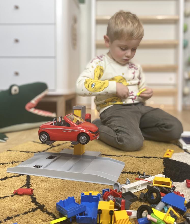 Playmobil - die Autowerkstatt