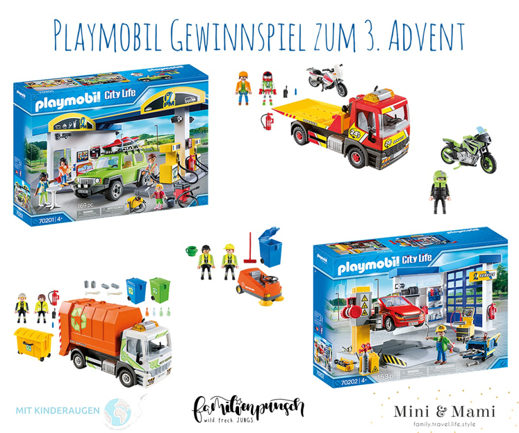 Playmobil - große Adventsverlosung