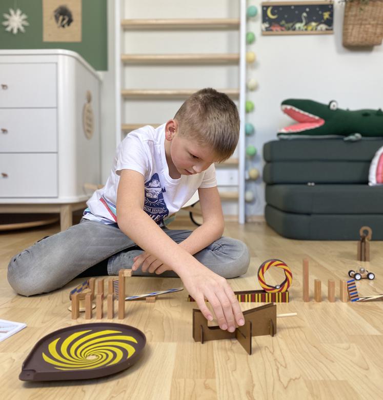 ZIG & GO Aufbau des Trichters