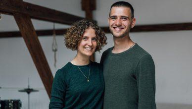 Stapelstein Gründer Hannah König und Stephan Schenk