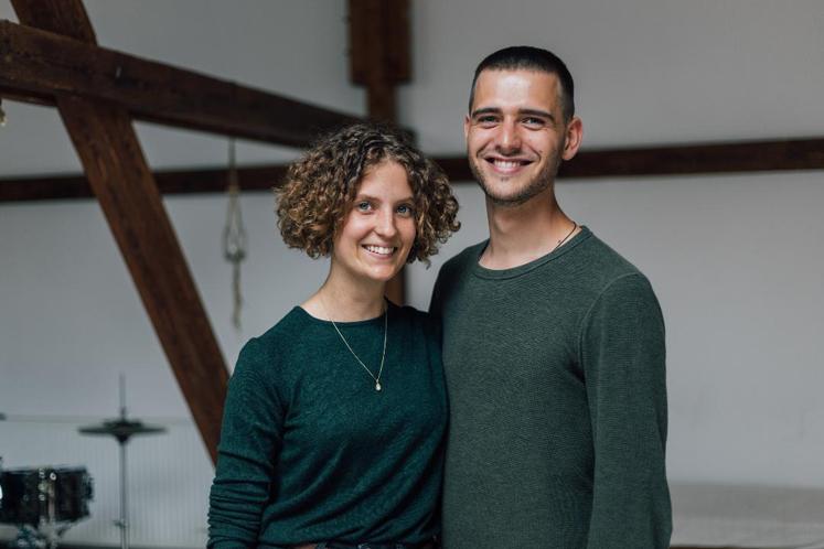 Stapelstein_Gründer Hannah und Stephan